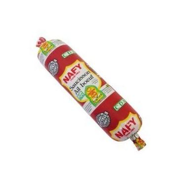 Nafy saucisson ail boeuf 100g
