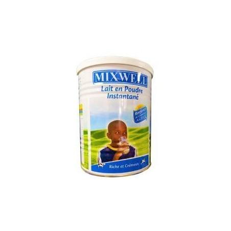 Mixwell lait en poudre écrémé enrichi instantané en pot 400g