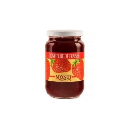 Monti confiture de fraises verre de 440g