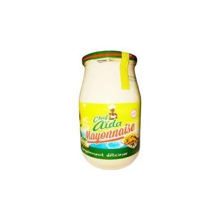 Chef Aïda mayonnaise à l\'huile tournesol en verre 1 kg