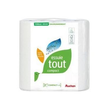 Auchan essuie-tout compact...