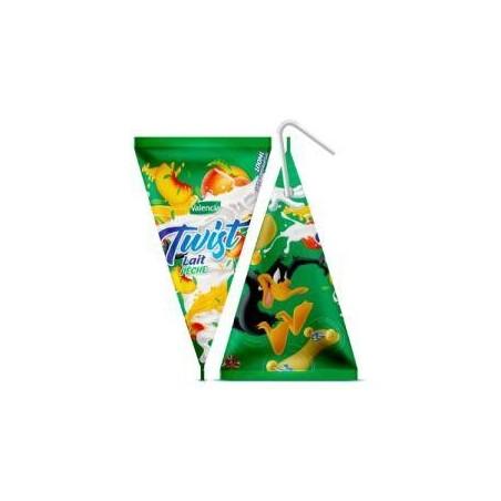 Valencia Twist boisson au lait à base de concentré de pêche 100ml