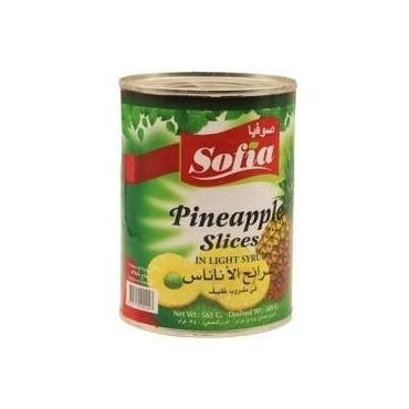 Sofia ananas en morceaux au...