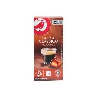 AUCHAN Capsules de café...