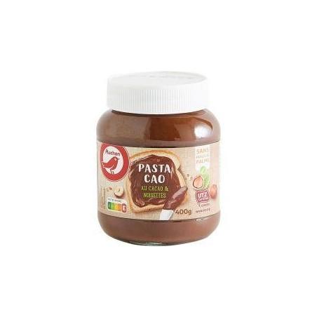 Auchan pâte à tartiner au cacao et aux noisettes 400g
