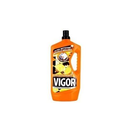Vigor nettoyant sol ultra dégraissant fraîcheur orange 1,3L
