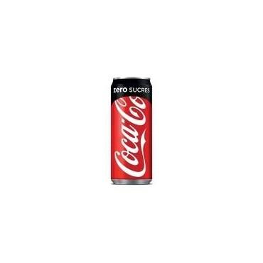 Coca zéro canette 33CL
