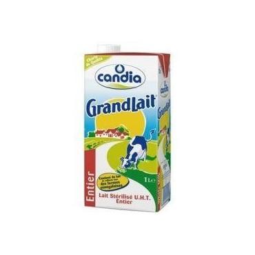 Candia lait entier brique 1L