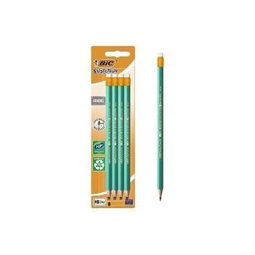 Bic Evolution 8 crayons...