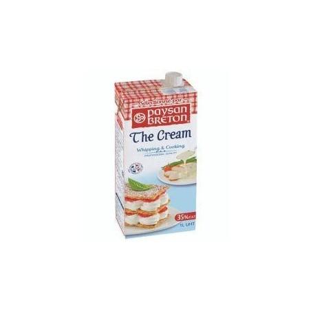 Paysan Breton crème liquide stérilisée UHT 35% M.G. 1L