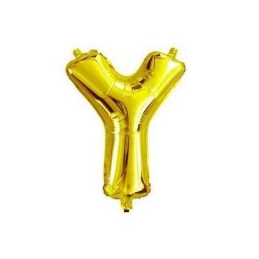 Ballon en lettre gonflable Y