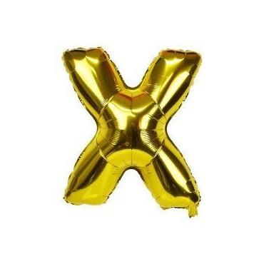 Ballon en lettre gonflable X