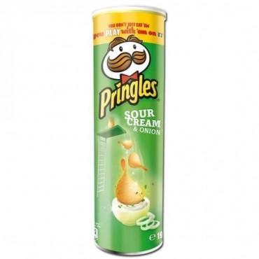 PRINGLES CHIPS CREME OIGNON...