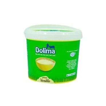 Dolima seau yaourt vanilla...