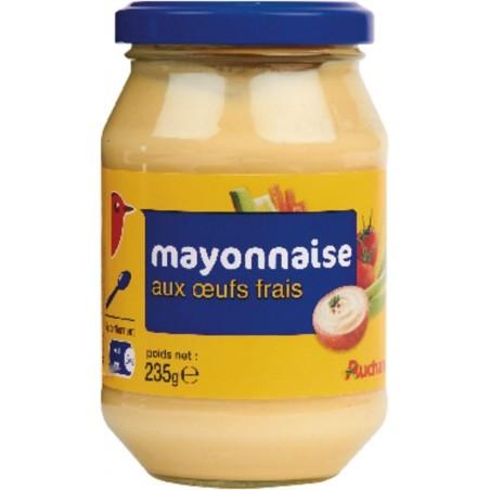 Auchan mayonnaise aux œufs frais 235g
