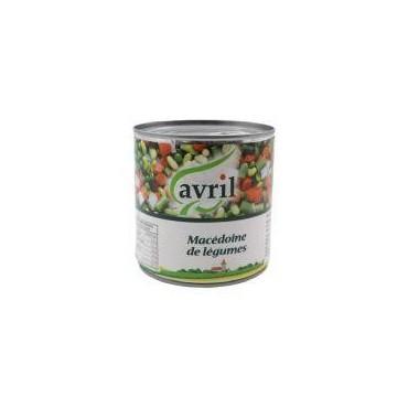 Avril macédoine de légumes...