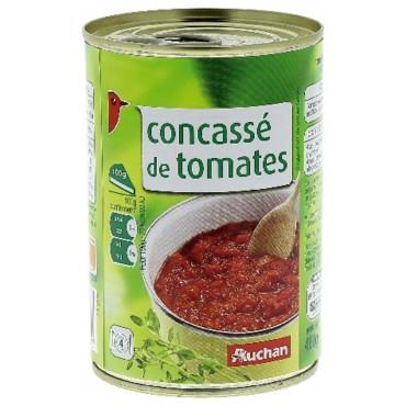 Auchan concassé de tomates...