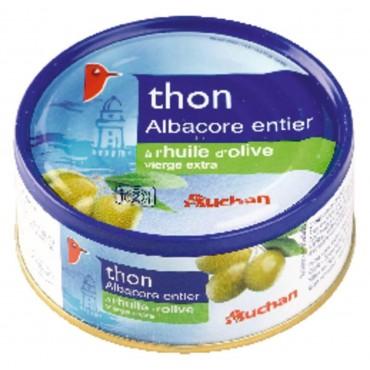 Auchan thon entier à...