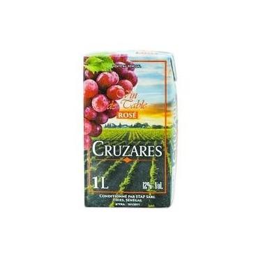 Cruzares vin rose brique 1l
