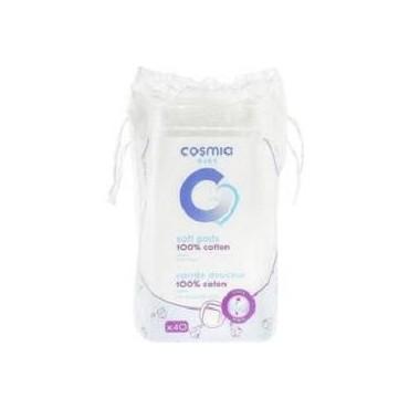Cosmia baby coton carrés x40