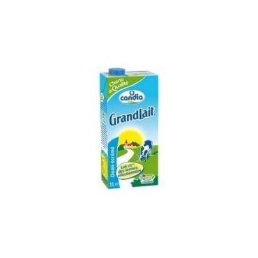 Candia lait 1/2 écrémé...