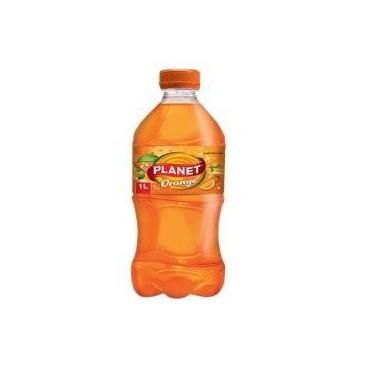 Planet orange boisson gazeuse