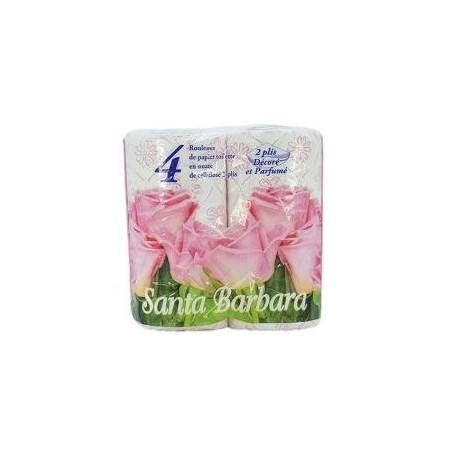 Papier toilette 4 rouleaux San ba