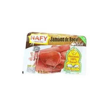 Nafy jambon bœuf 125g
