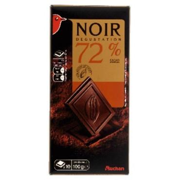 Auchan chocolat noir...