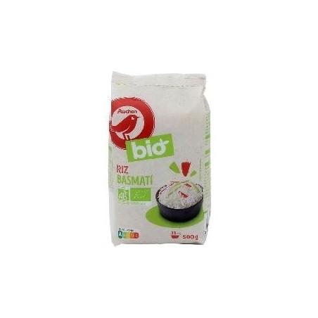 Auchan Bio riz basmati 500g