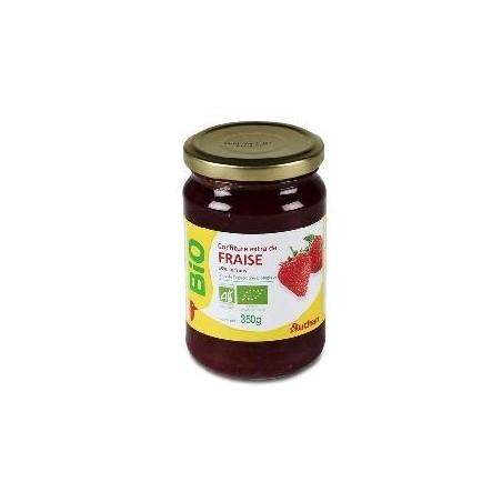 Auchan Bio confiture 65% fraise 350g
