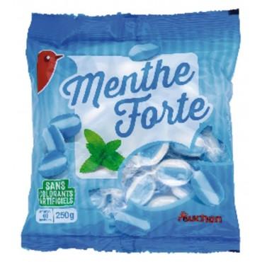Auchan bonbons extra mint