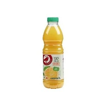 Auchan pur jus orange pulpe...