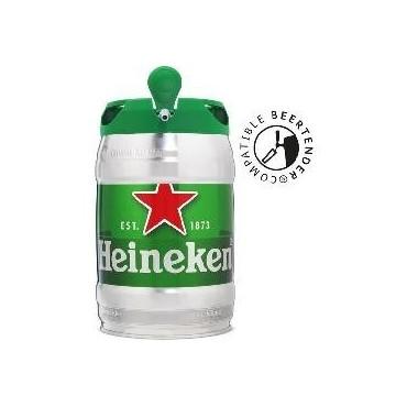 Heineken fût bière blonde...