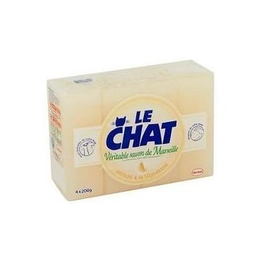 Le Chat savon glycérine x5