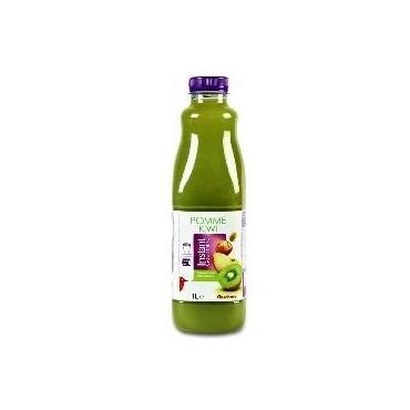 Auchan nectar pomme kiwi 1L