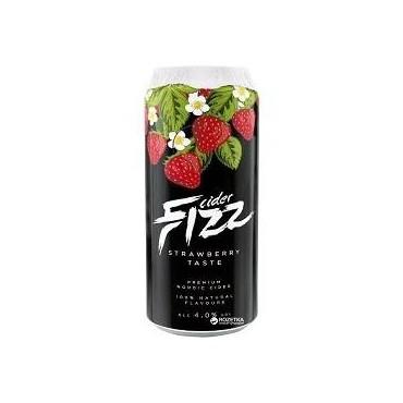 Cidre Fizz De Fraise 4% 50CL