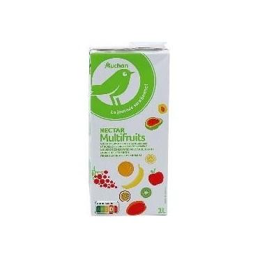 Auchan nectar multifruits 1L