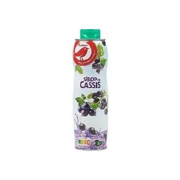 Auchan sirop cassis 60cl