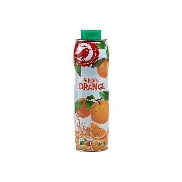 Auchan sirop orange 60cl