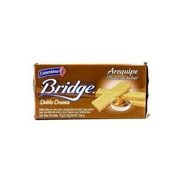 Colombina wafer bridge...
