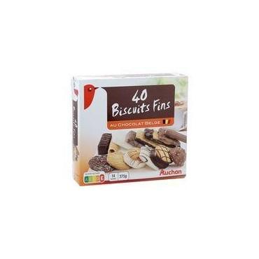 Auchan biscuits fins au...