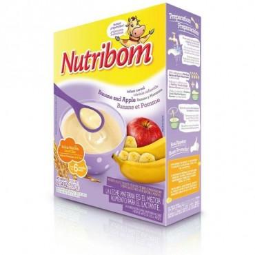 NUTRIBOM POMME/BANANE 350G