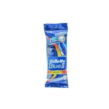 GILETTE BIeu Plus X3