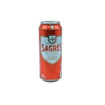 Sagres bière canette 50cl