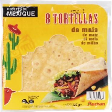 Auchan tortillas de maïs 320g