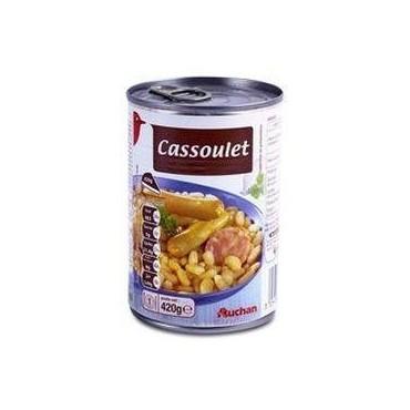 Auchan cassoulet 420g