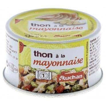 Auchan thon à la mayonnaise...