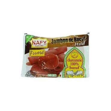 Nafy jambon de bœuf fumé 125g