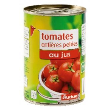 Auchan tomates entières...